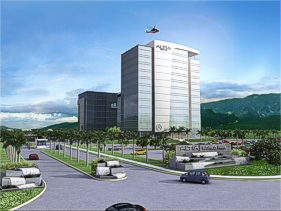 The first tenants at Altia business park are planning to move into the state-of-the-art facility in September.