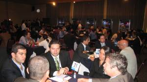The Services Summit is built around corporate speed-dating